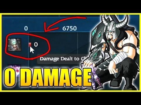 Why am i doing this!? 0 Damage Tryndamere!