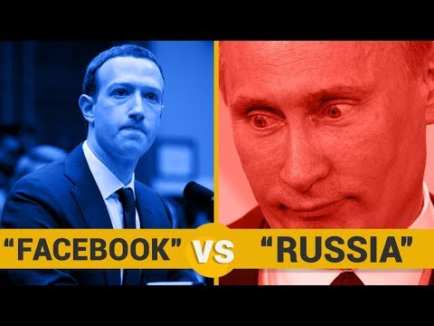 FACEBOOK VS RUSSIA - Google Trends Show