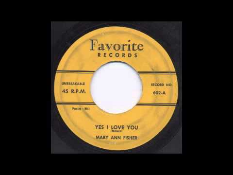 MARY ANN FISHER - YES I LOVE YOU - FAVORITE
