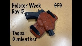 Holster Week Day 5 : Tagua Gunleather IWB