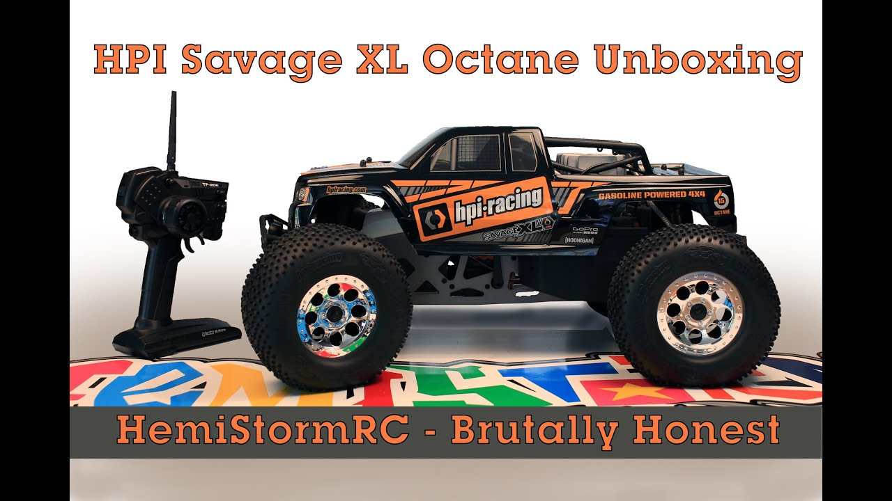 HPI SAVAGE XL OCTANE unboxing and first look