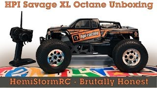 HPI SAVAGE XL OCTANE - unboxing and first look
