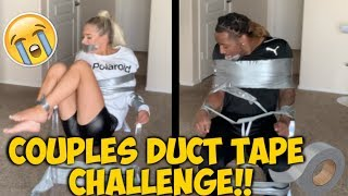 HILARIOUS COUPLES DUCT TAPE CHALLENGE!!!