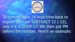 Advanced Telling Time Modules - Part 2 - Military Time & 24 Hour Clock