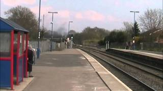 5043 'Earl of Mount Edgcumbe' storms through Hatton (18/04/10) Thumbnail