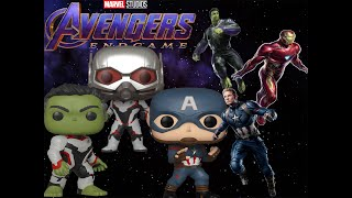 Avengers End Game Pop Vinyls Unboxing