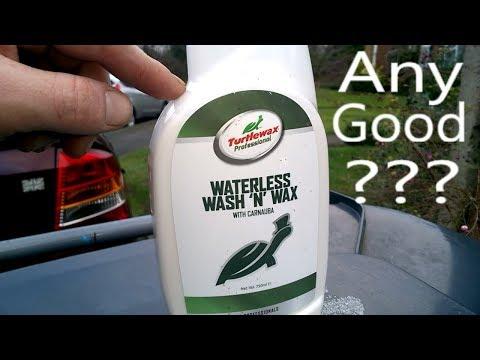 Using Waterless Wash n Wax
