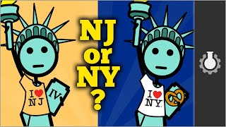 Who Owns The Statue of Liberty?  (New Jersey vs New York) Video