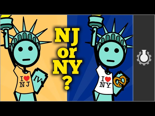Who Owns The Statue of Liberty?  (New Jersey vs New York)