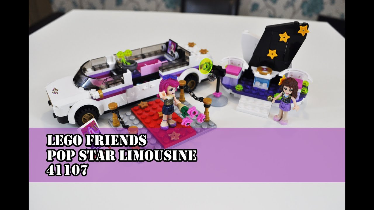 LEGO Friends Pop Star Limousine - Set 41107 - Speed Build ...