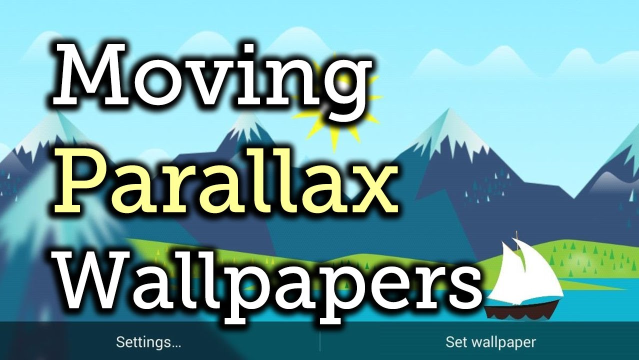 Liven Up Your Background with These Free 3D Parallax Wallpapers for