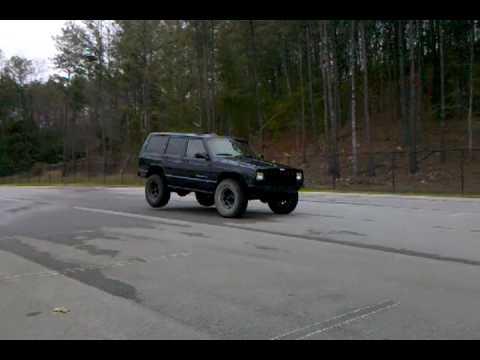 XJ - no rear shocks