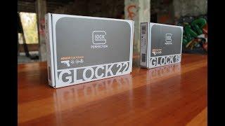 Огляд пневматичних пістолетів GLOCK 22, GLOCK 19 від компанії UMAREX