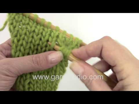 How To Unravel Knitting Stitches : How to knit a basket pattern in the round Doovi