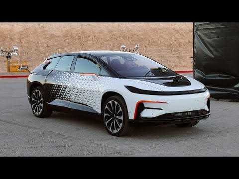 Testing the Faraday Future FF91 - BBC Click