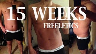 15 Weeks Freeletics - Summer 2013