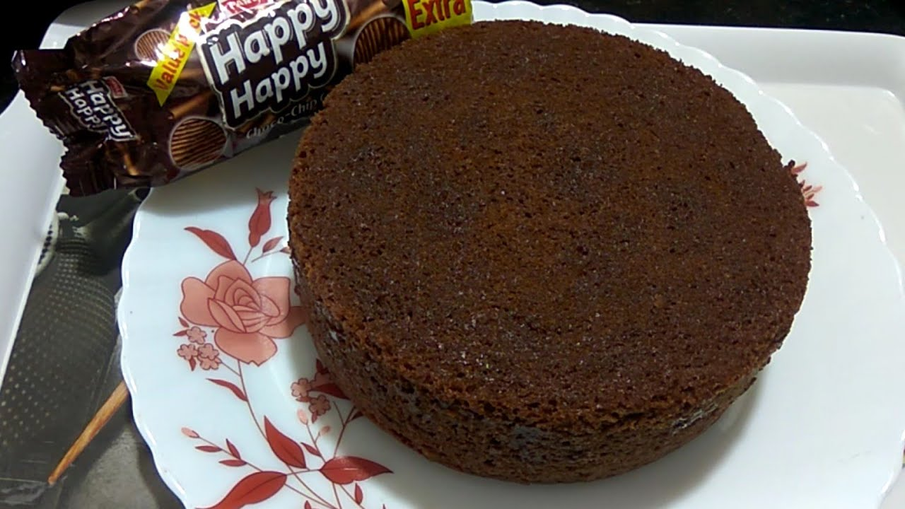 Happy Happy Biscuit Cake In Pressure Cooker Recipe Eggless Yummy Biscuit Cake Recipe Without Oven Youtube