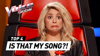 Repeat youtube video The Voice | Best SHAKIRA COVERS in The Blind Auditions