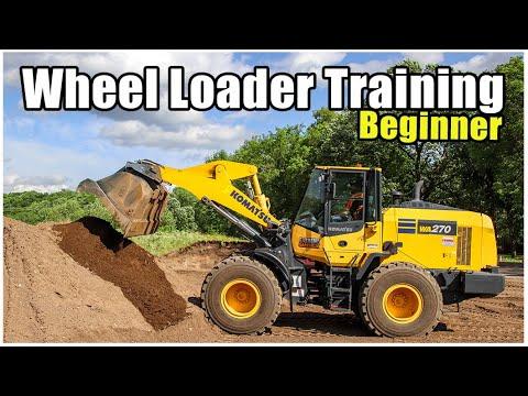 Front End Loader Training (Beginner) 2020 | Heavy Equipment Operator Training