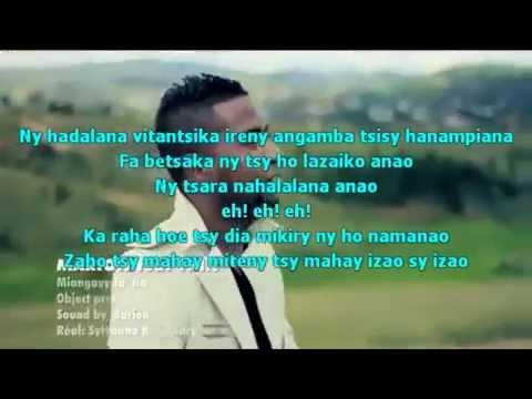Lyrics miangavy fa tia-Marion ft THT