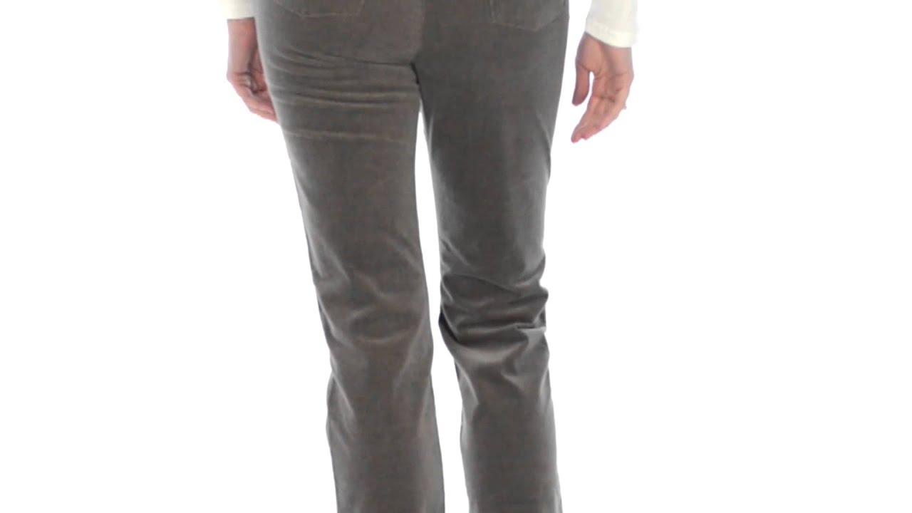 FDJ French Dressing Suzanne Soft-Spun Corduroy Pants - Straight ...