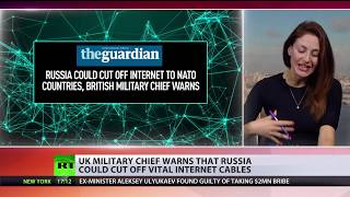 Cross wires: UK military chief warns that Russia could cut off vital internet cables