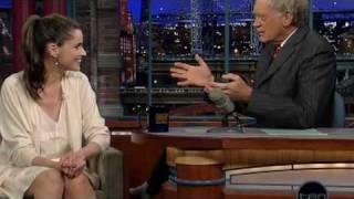 Amanda Peet (Letterman)