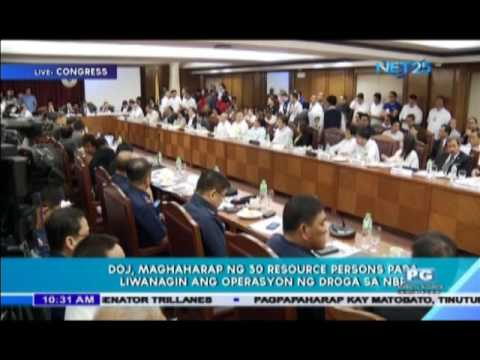 ICYMI: Part 2 of NET 25 Coverage of the House hearing on alleged illegal drug trade in the NBP