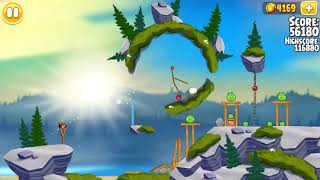 Angry Birds Seasons, Summer Camp, Golden Egg #76 (lower-right), 117160
