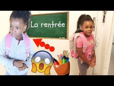 LE JOUR DE LA RENTREE ,BACK TO SCHOOL 2017 - VLOG