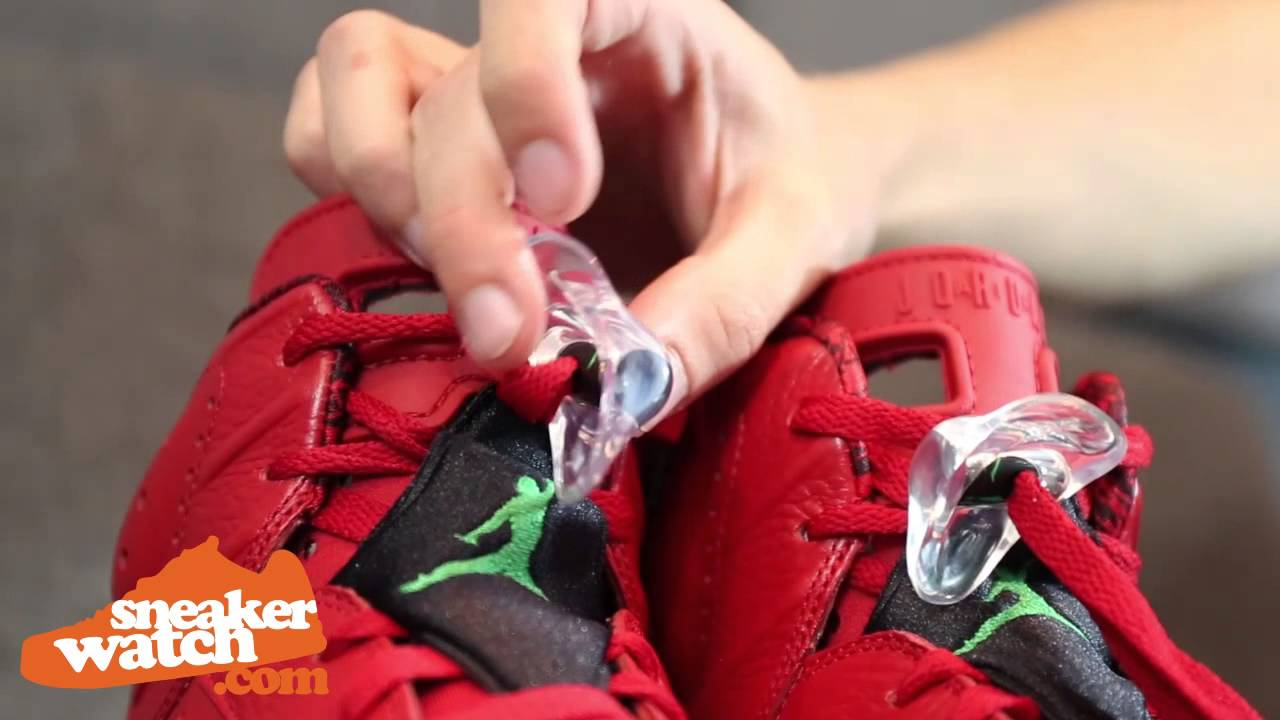 Air Jordan 6 Varsity Blanc Ongles Rouge Faux