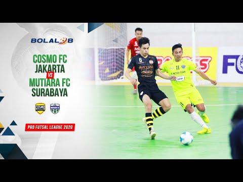 Cosmo FC Jakarta (3) Vs (0) Mutiara FC Surabaya   Highlights Pro Futsal League 2020