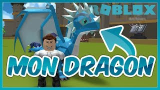MON DRAGON SUR ROBLOX !
