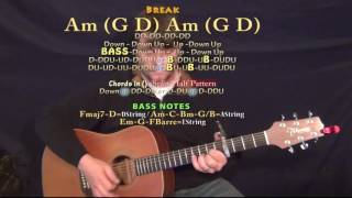 Dirt on My Boots (Jon Pardi) Guitar Lesson Chord Chart