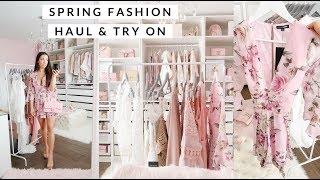 SPRING FASHION CLOTHING HAUL AND TRY ON!💕