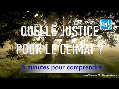 Quelle justice pour le climat ? Judith Rochefeld
