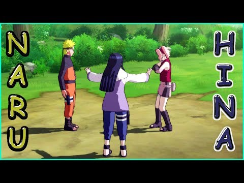 Hinata protects Naruto from Sakura before Kushina and Minato - Ultimate Ninja Storm Revolution Game