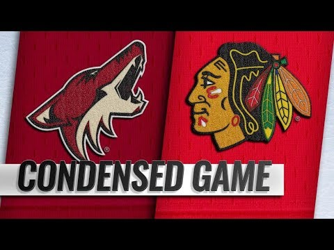 Arizona Coyotes vs Chicago Blackhawks – Oct.18, 2018 | Game Highlights | NHL 18/19 | Обзор матча