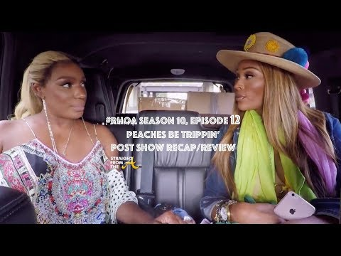 ATLien LIVE: #RHOA Post Chat: Season 10, Episode 12 - Peaches Be Trippin