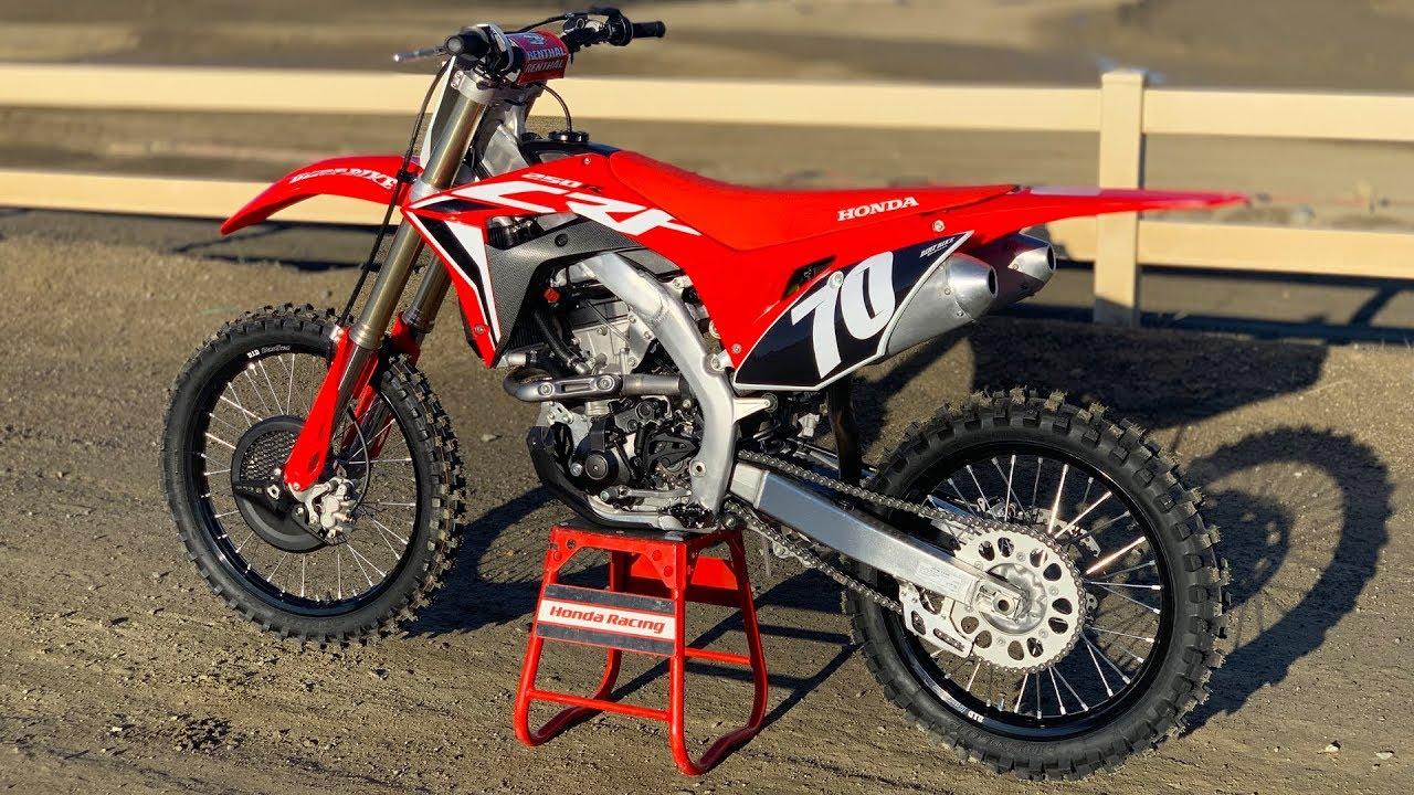 2020 Honda Crf250 Dirt Bike Magazine Youtube