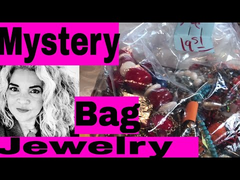 Jewelry Jar Unboxing A Chicago Jewelry Bag Baubles To Resell & Keep