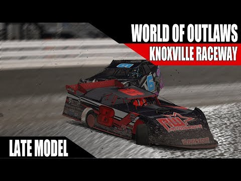 iRacing World of Outlaws Late Model Series W10 @ Knoxville Raceway R1