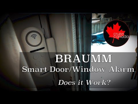 Braumm Wifi Smart Door and Window Alarm Sensor