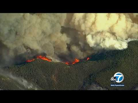 Ventura County residents say SoCal Edison started Thomas Fire | ABC7