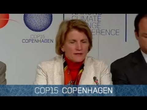Congressional Republicans hold a press conference at the Copenhagen, COP-15 negotiations