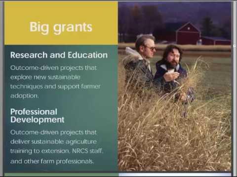 SARE Farmer Grower Grants Webinar