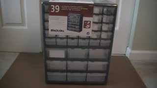 Review- Stack-on 39 Drawer Storage Cabinet