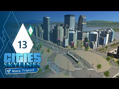 LISBON, SALDANHA | Cities: Skylines Mass Transit | Part 13