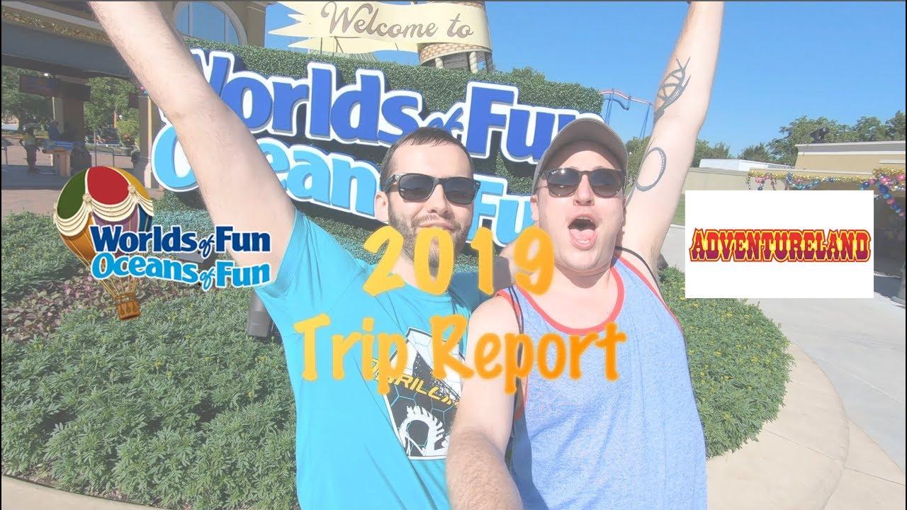 Worlds of Fun & Adventureland 2019 Trip Report