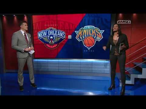 Swindow: Getting Mitchell Robinson Involved   New York Knicks   MSG Networks